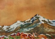 Valemount Peak - Orange